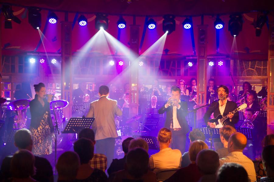 Spiegeltent-concert