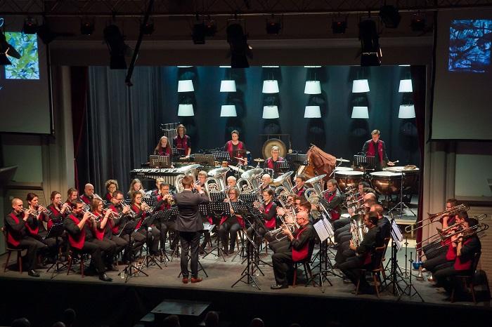 groepsfoto Brassband Kempenzonen