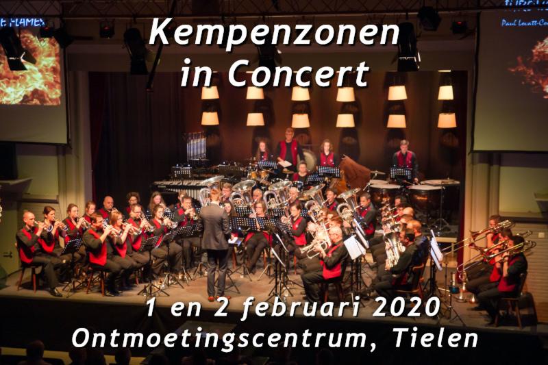 Banner Kempenzonen in concert 2020