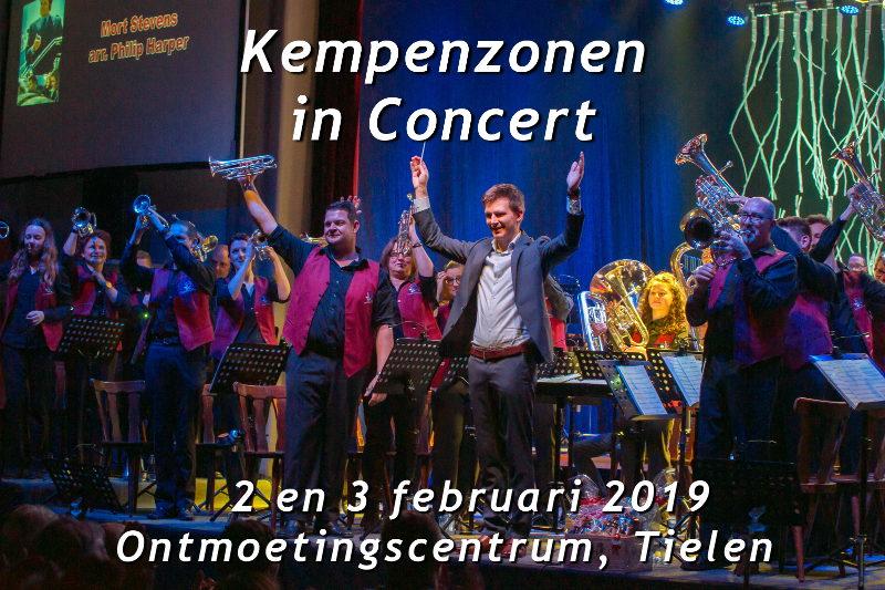 banner concert brassband kempenzonen Tielen